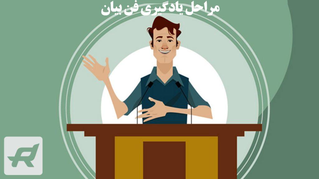 مراحل یادگیری فن بیان در سخنرانی