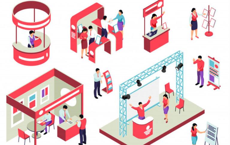 رزرو آنلاین غرفه های نمایشگاهی